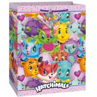 Hatchimals XL Geschenktüte 33 x 27cm
