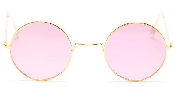 Occhiali da sole rosa hippy Sarah