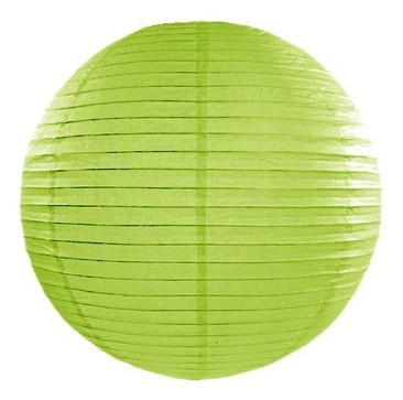 Lanterne Lilly vert clair 25cm