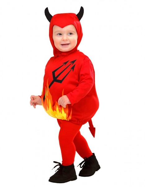 Sweet devil baby costume