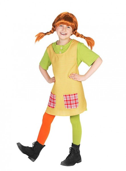 Pippi Calzelunghe costume bambina