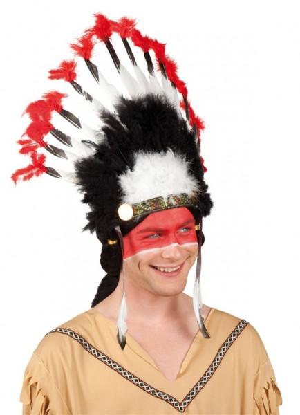 Indianer Kopfschmuck Mohawk