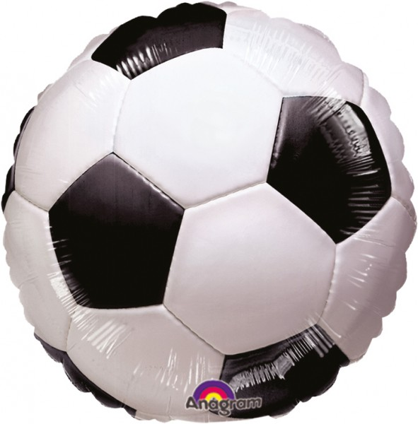 Football foil balloon 23cm