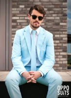 OppoSuits Partyanzug Cool Blue
