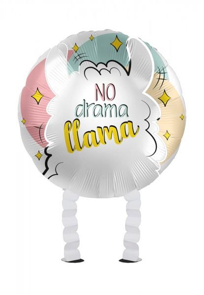 Lama Airwalker Folienballon 43cm