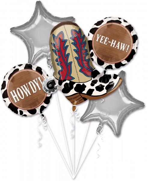 Foil balloon set Wild Wild West