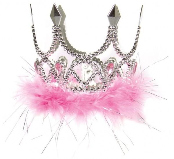 Bezaubernde Krone in Silber