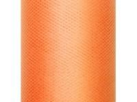 Tüll auf Rolle Orange 30cm x 50m