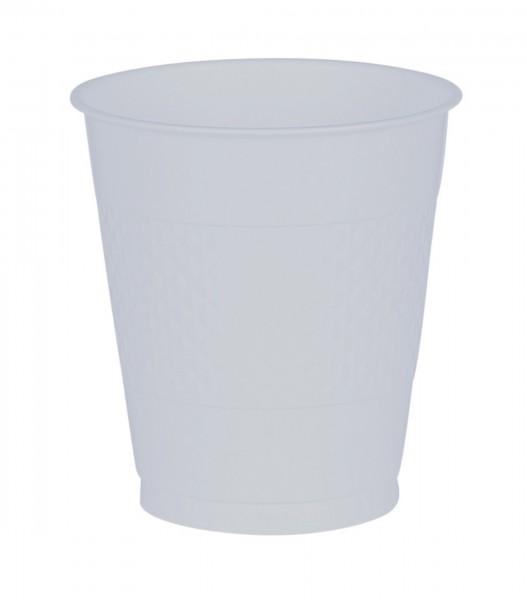 20 Plastikbecher transparent 355ml