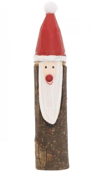 Holz Weihnachtsmann Figur 2,5 x 12,5cm