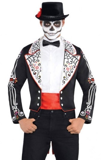 Day of the Dead jacket for men