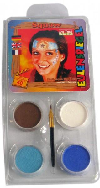 Squaw Make-Up Schminkset