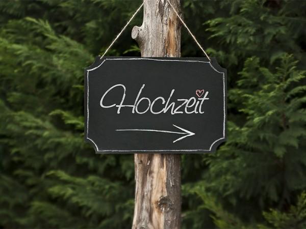 Deko Tafelset Hochzeit 30x45cm
