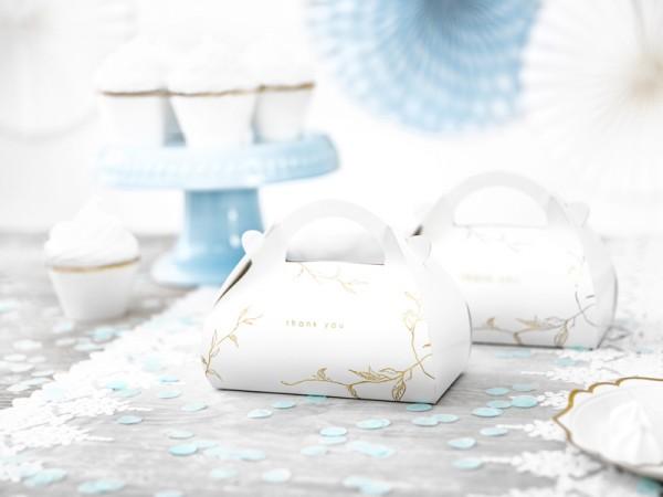 10 boîtes à gâteaux de remerciement Harmony