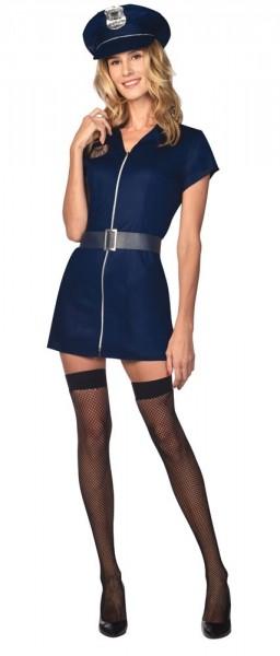 Seksowny kostium policyjny damski deluxe