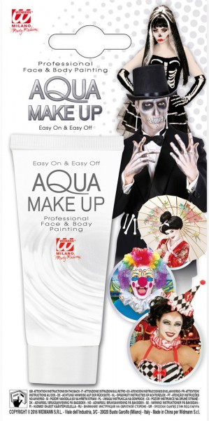Witte Aqua make-up 30ml