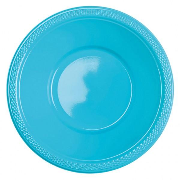 10 cuencos en azul celeste 355ml