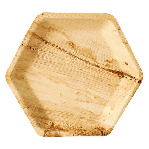 25 palmblad borden Rossini hexagonaal