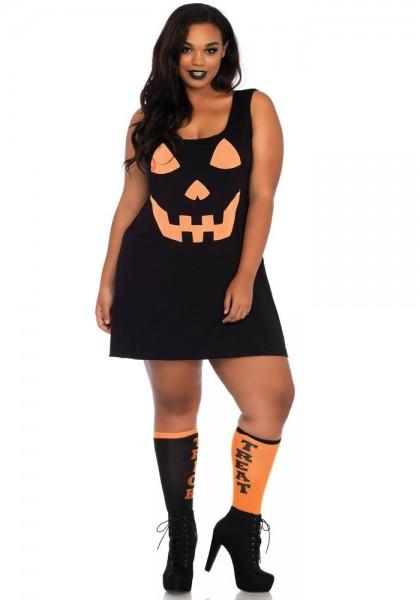Kürbis Lady Halloweenkostüm für Damen
