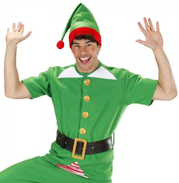 Disfraz navideño de ayudante élfico unisex