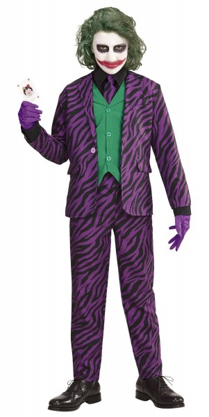 Joker cattivo costume bambino