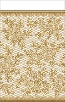 Blumen Stickerei Tischdecke 2,59 x 1,37m