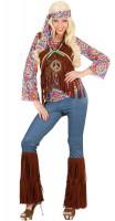 Hippiekostüm für Damen Classic