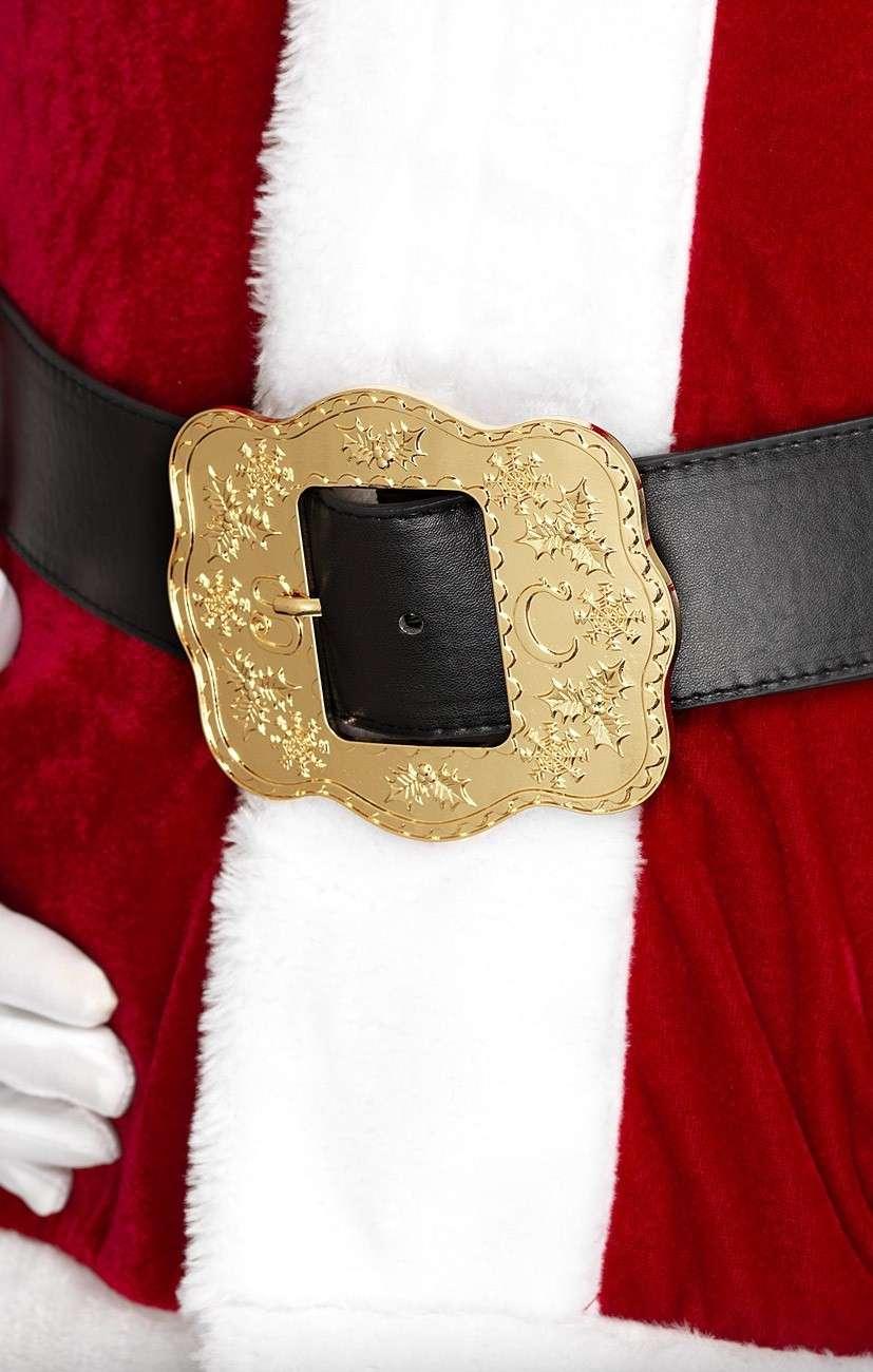 Santa Claus riem met gesp