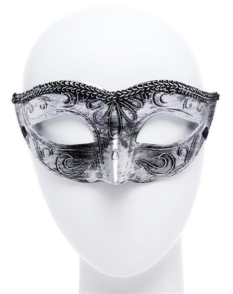 Silberne Maske Arabella