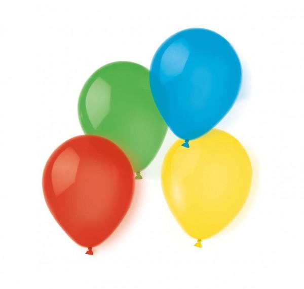20 fröhliche Luftballons 20cm
