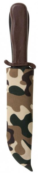 Kleines Messer Mit Camouflage Tarn Messerhülle