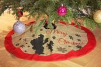 Tannenbaum Deckchen Christmas 86cm