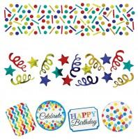 Rainbow Birthday Streudeko 34g