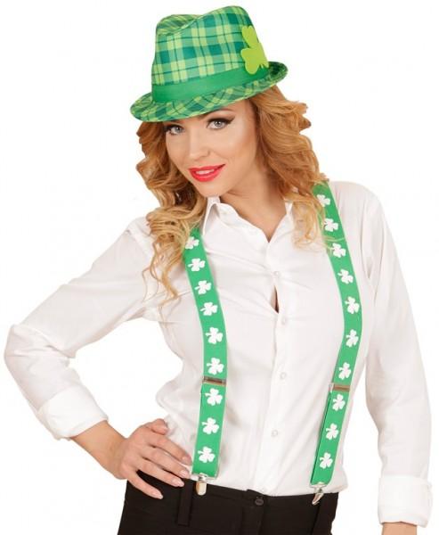 Karierter St. Patricks Day Hut