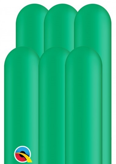 100 modeling balloons 260Q green 1.5m
