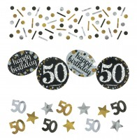 Golden 50th Birthday Streudeko 34g