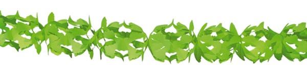 Pendel-Papier Girlande Hoku-Grün