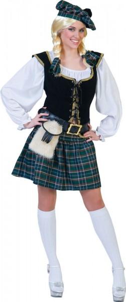 Scots dames dames kostuum