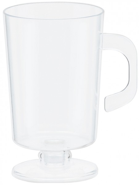 10 tasses à café transparentes 59 ml