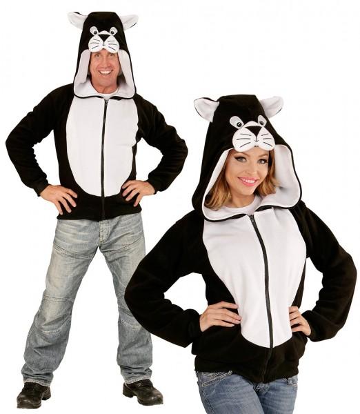 Plüschige Katzenkostüm Sweatshirtjacke