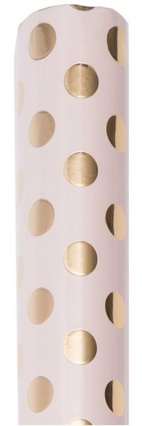 FSC Lovely Dots wrapping paper pink