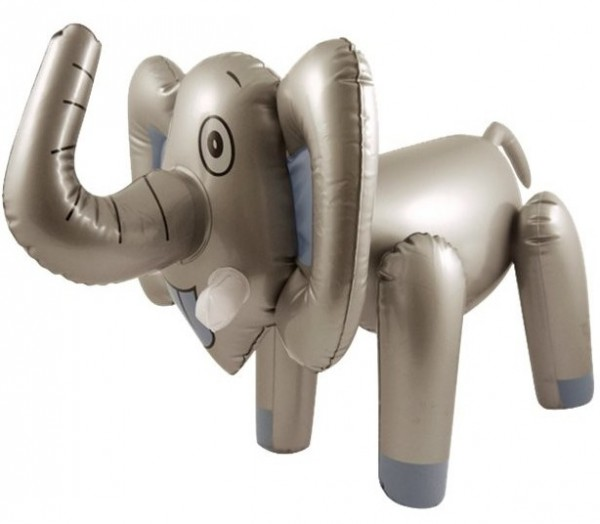 Aufblasbarer Elefant Benny 65cm