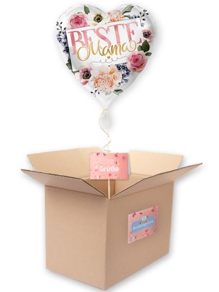 Folienballon Beste Mama 43cm