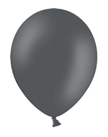 100 Partystar Luftballons anthrazit 23cm