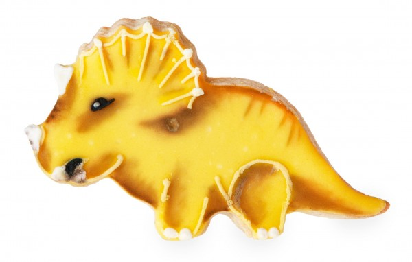 Triceratops cookie cutter 10.8cm
