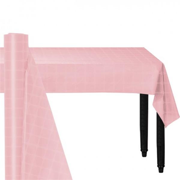 Nappe en papier rose 120cm x 8m
