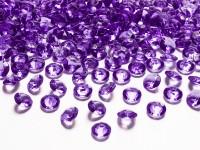 100 Streudeko Diamanten violett 1,2cm