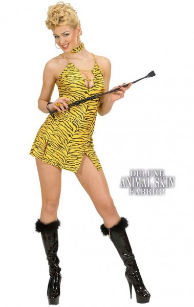 Aufreizendes Tiger Damenkostüm