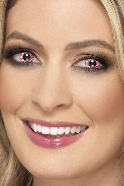 Kontaktlinsen Blutadern