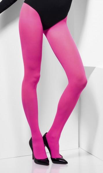 Hautenge Strumpfhose In Pink